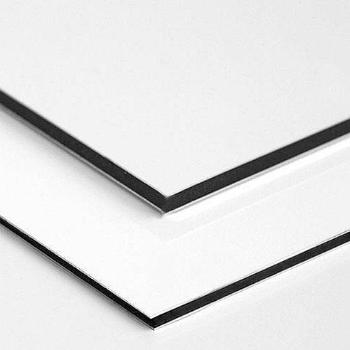aluminium compostiet platen