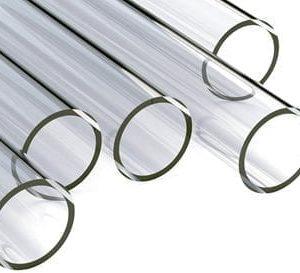 Transparante polycarbonaat buizen (slagvast)