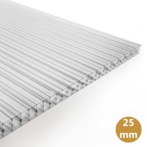 Polycarbonaat Kanaalplaat 25mm
